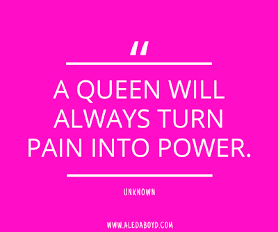 Quotes on how to be an emotionally strong feminine woman | www.aledaboyd.com