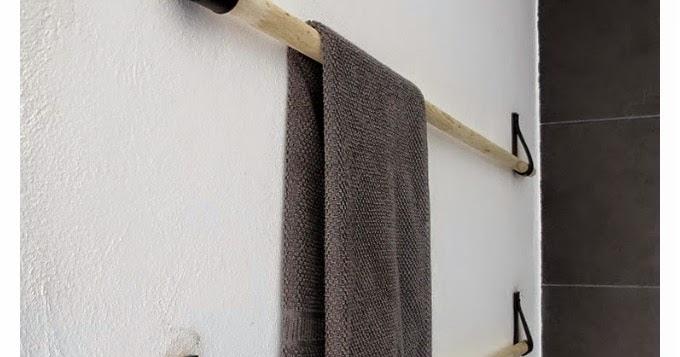 Mi rinc n de sue os small lowcost colgador de toallas for Colgador de toallas bano