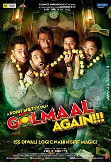 Golmaal Again First Look Poster  3