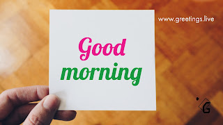 Creative good morning wishes HD Image