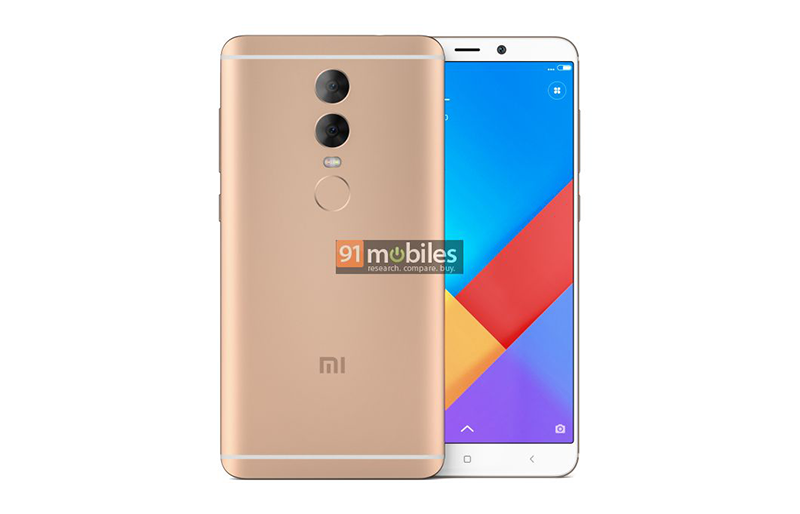 Xiaomi Redmi Note 5 With 18 9 Display And Front Led Flash: Xiaomi's Alleged Redmi Note 5 Image Renders Shows An 18:9