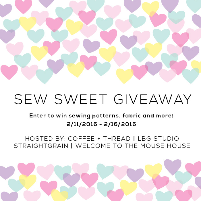 Sew Sweet Giveaway Welcometothemousehouse