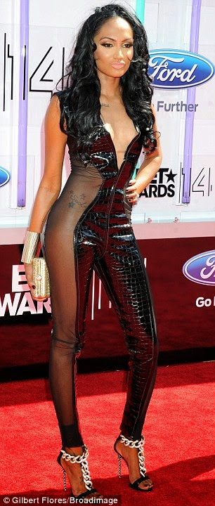 article 2674348 1F40D82F00000578 129 306x720 Red Carpet photos from 2014 BET Awards + Full List of Winners