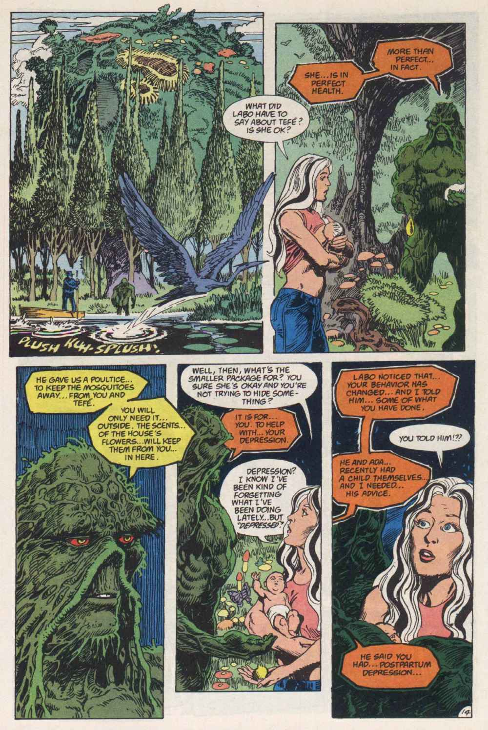 Swamp Thing (1982) Issue #91 #99 - English 14