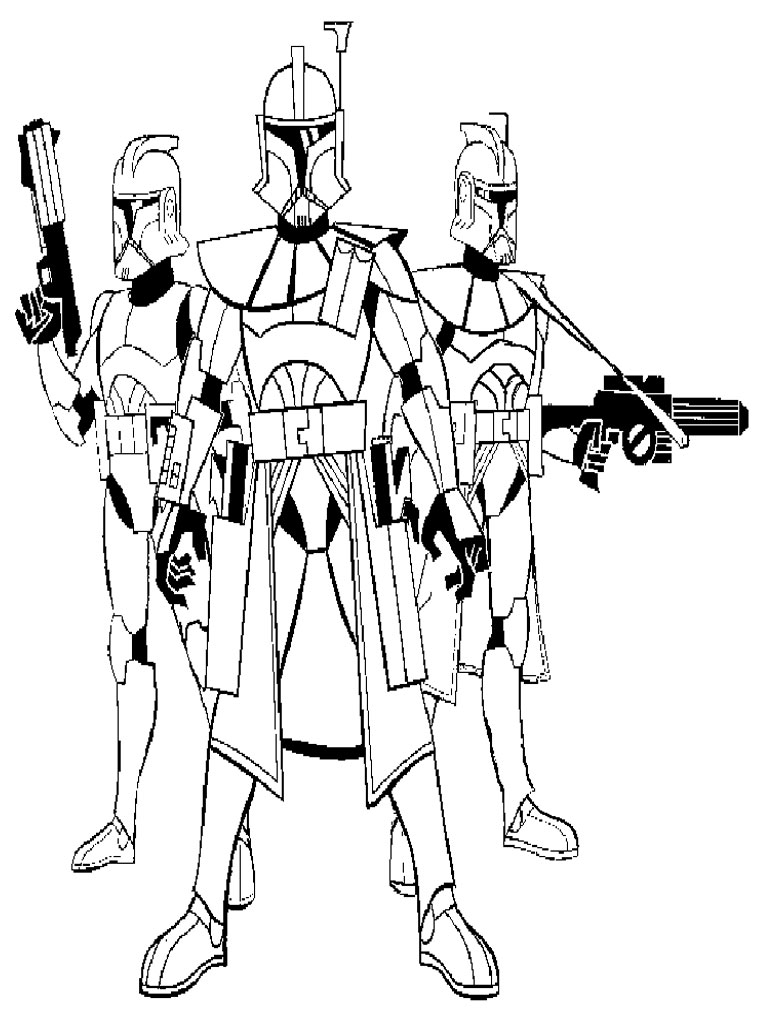 Free Printable Star Wars Coloring Pages - Free Printable ...