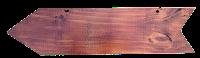 Plaquinha de madeira em png