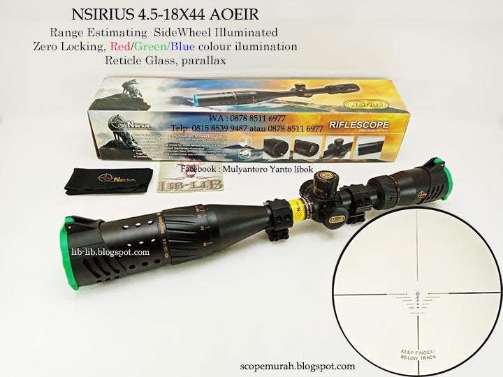 Lib lib asesories senapan dan perlengkapan outdoor: jual scope