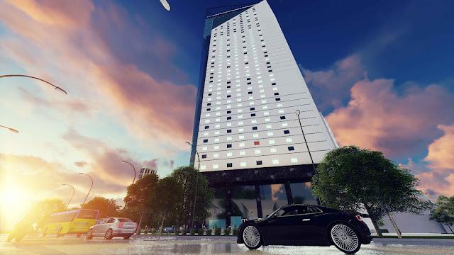 Phối cảnh dự án tháp Doanh nhân