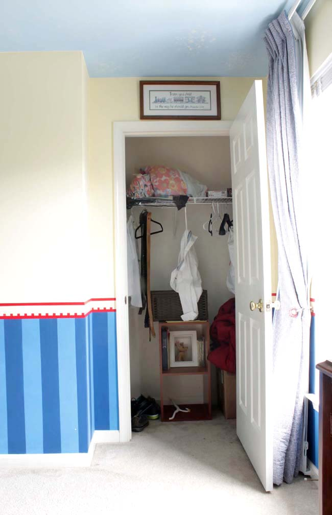 Diy Small Closet Makeover Part 1 Remodelando La Casa