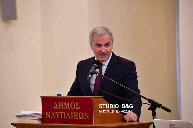 Τιμή για το Αίγιο στο Ναύπλιο - Επιθυμία του Δημάρχου Αιγιαλείας να «αδελφοποιηθούν» οι δύο πόλεις