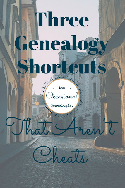 3 genealogy shortcuts that aren't cheats. Try these research shortcuts online, at home, or at a repository.