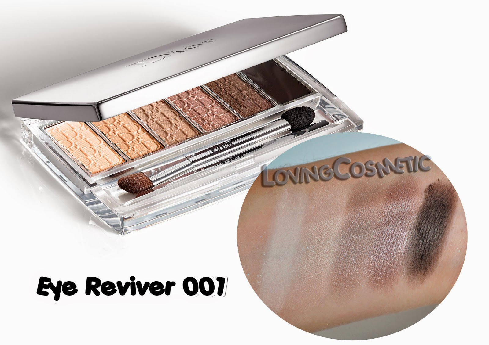 Dior Tie & Dye coleccion collection 2015 summer verano swatch swatches eye reviver 001