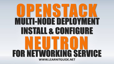 Install Openstack Neutron Networking on Controller node