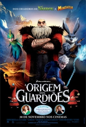A Origem dos Guardiões Blu-Ray Torrent Download
