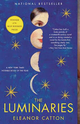 The Luminaries by Eleanor Catton - book cover