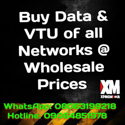 VTU, Data, Bulk SMS, Xpino Media, Nigeria, Lagos, MTN, Glo, 9mobile, Airtel, Internet, Business