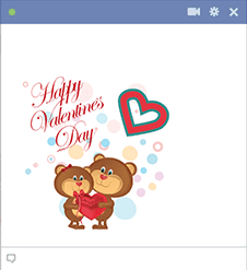 Cute Valentine Teddy Bears Sticker