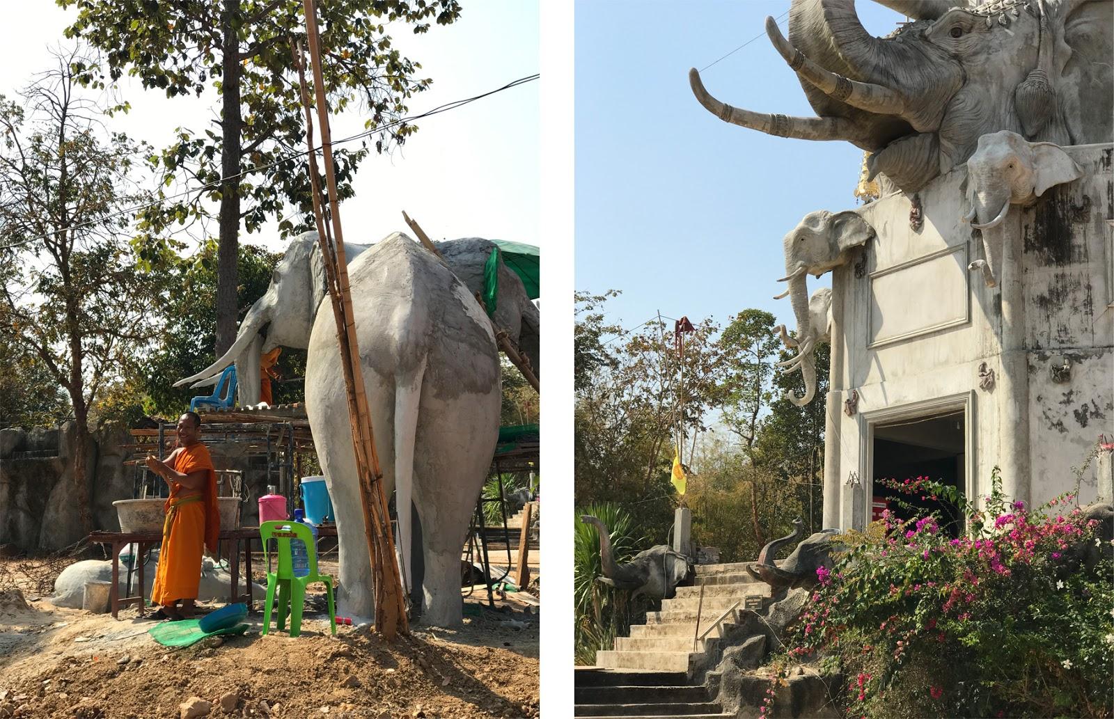 Elephant Temple Surin Thailand