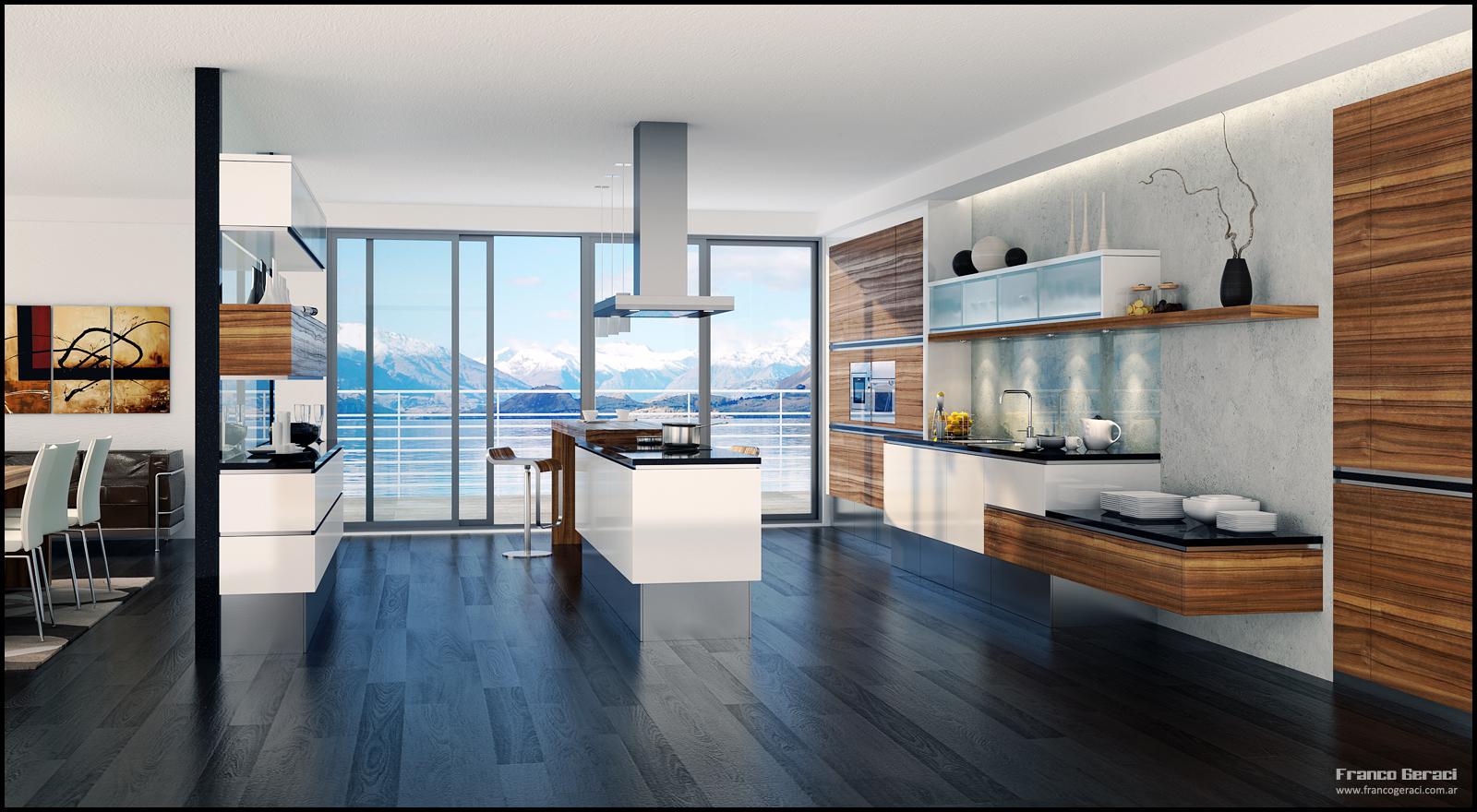Home Interior Design & Decor: Modern Style Kitchen Designs