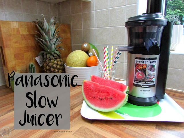 My General Life - Panasonic Slow Juicer Review