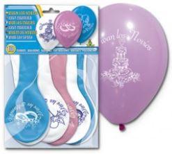 Unos globos temáticos para el día de tu boda