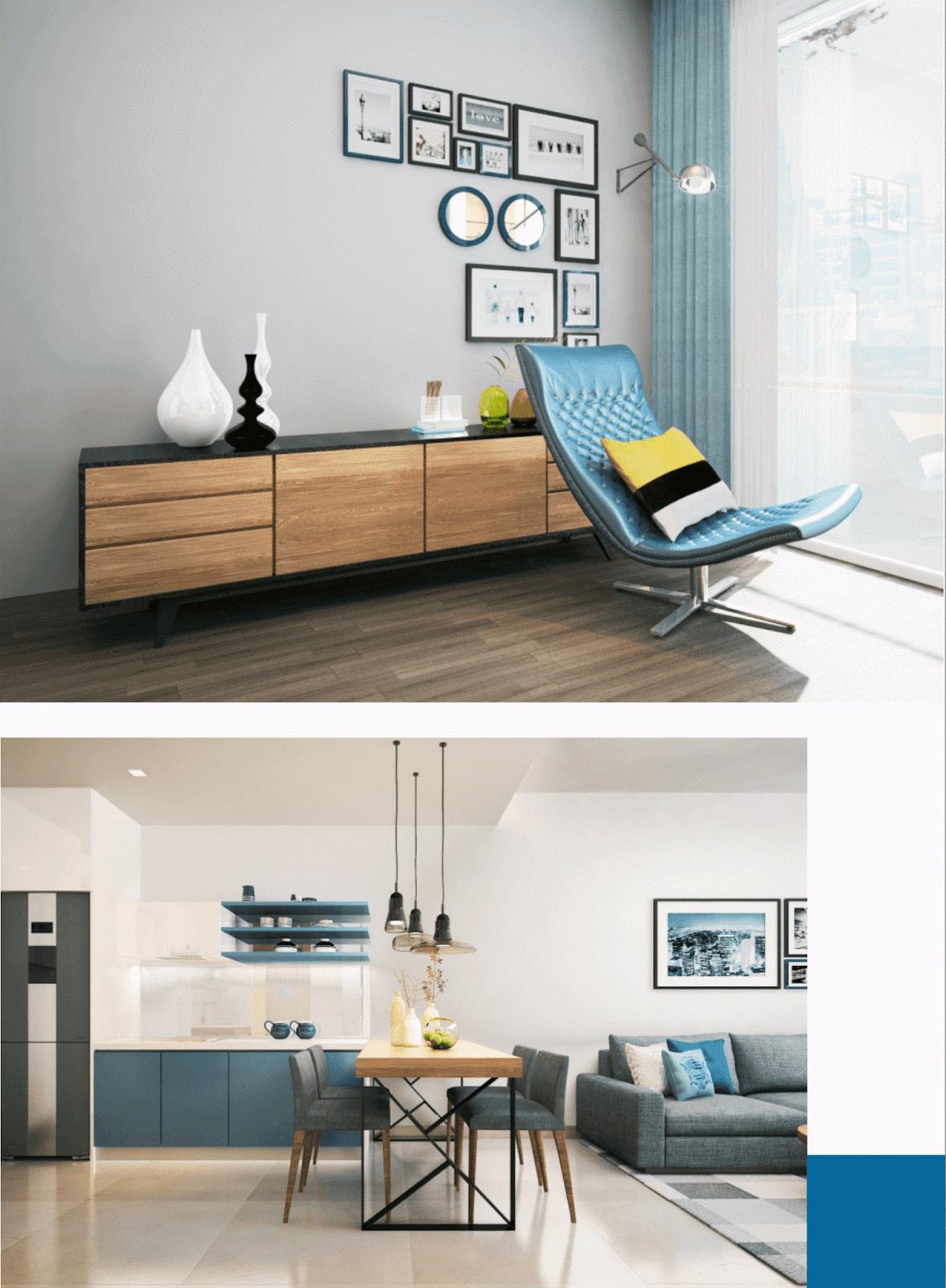 Thiết kế nội thất thông minh Smart Home tại The Emerald Mỹ Đình