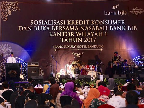 Buka puasa bersama bank BJB di Trans Luxury Hotel