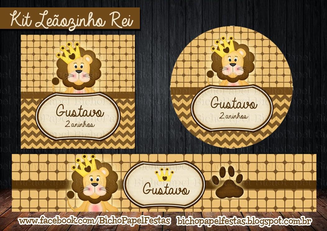 Kit Leãozinho Rei