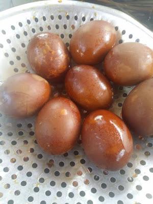 DIY Buat Telur Masak Pindang Mudah Dan Sedap