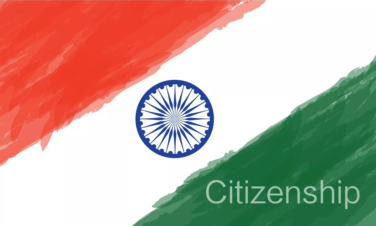 Citizenship, India, indian flag