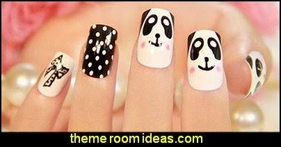 animal themed nil design ideas