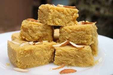 Traditional Gujarati Mohanthal Recipe