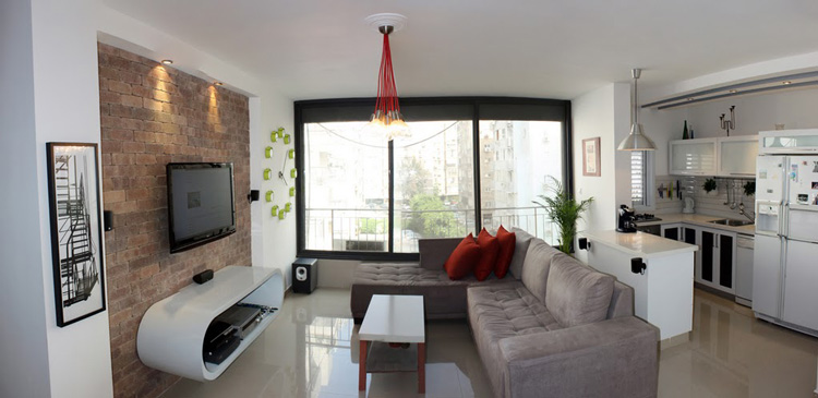 first apartment living room ideas oficina de arquitetura tijolinho aparente tijolo 224 vista 18801