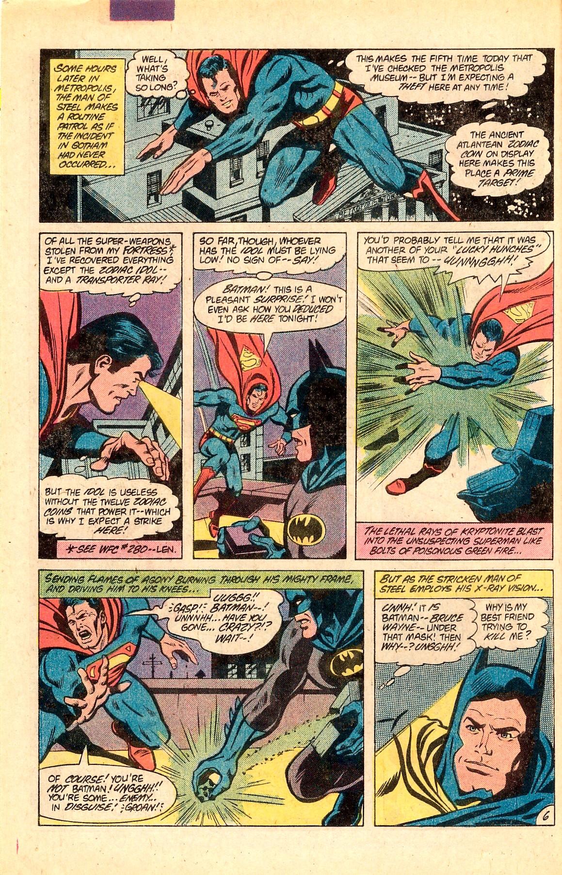Read online World's Finest Comics comic -  Issue #283 - 10