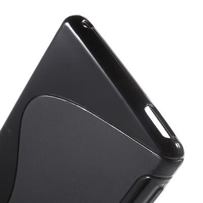 Stylish-TPU-Jelly-Soft-Case-Back-Cover-Sony-Xperia-M4-Aqua-Dual
