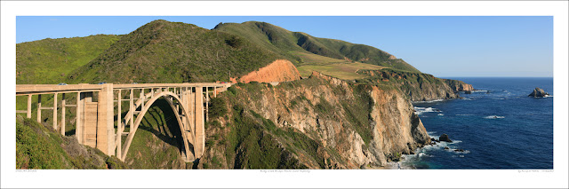 Bixby Creek Big Sur wide panoramic photo prints for sale, King of Hearts wikipedia Owen Art Studios Panoramas