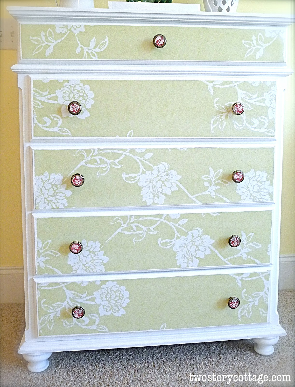 Wallpaper Dresser Tutorial Complete With Donts