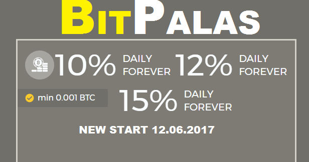 Bitcoin FORUM: BITPALAS investment review