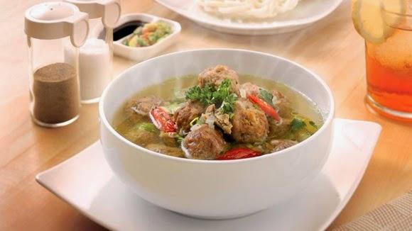 Resep Mie Kuah, Resep Bola-Bola Ayam, Cara membuat Bola-bola ayam Spesial Bergizi