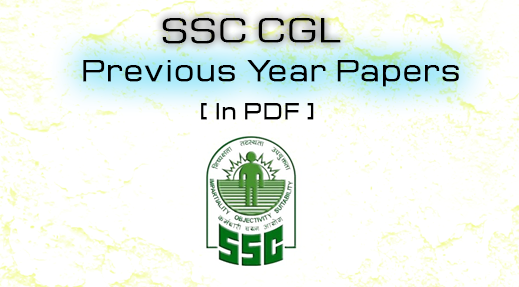 SSC CGL Previous Year Paper with Solutions in Hindi PDF Download