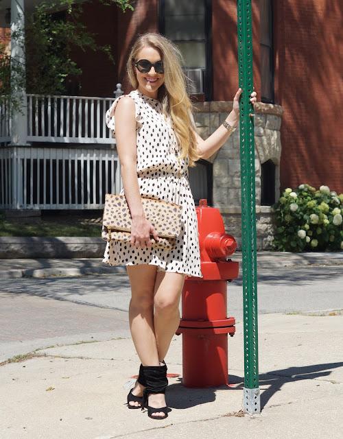 chicago fashion blogger kate spade