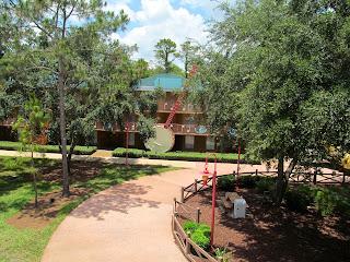 Huge Banjo in Country Music Area of Disney's All Star Resort