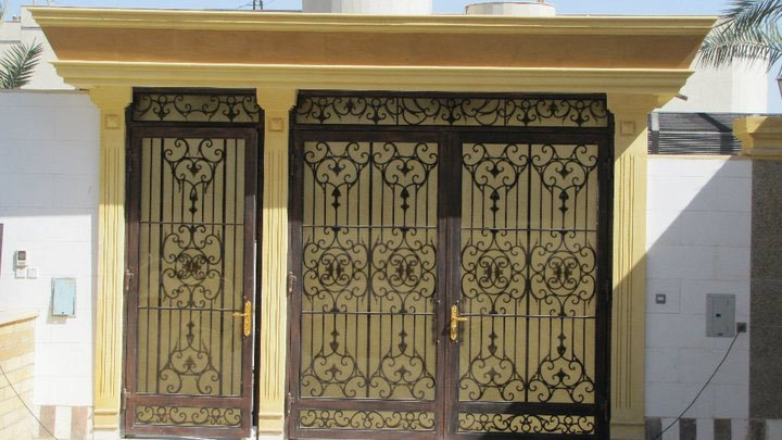 main door design for home iron  | 720 x 405