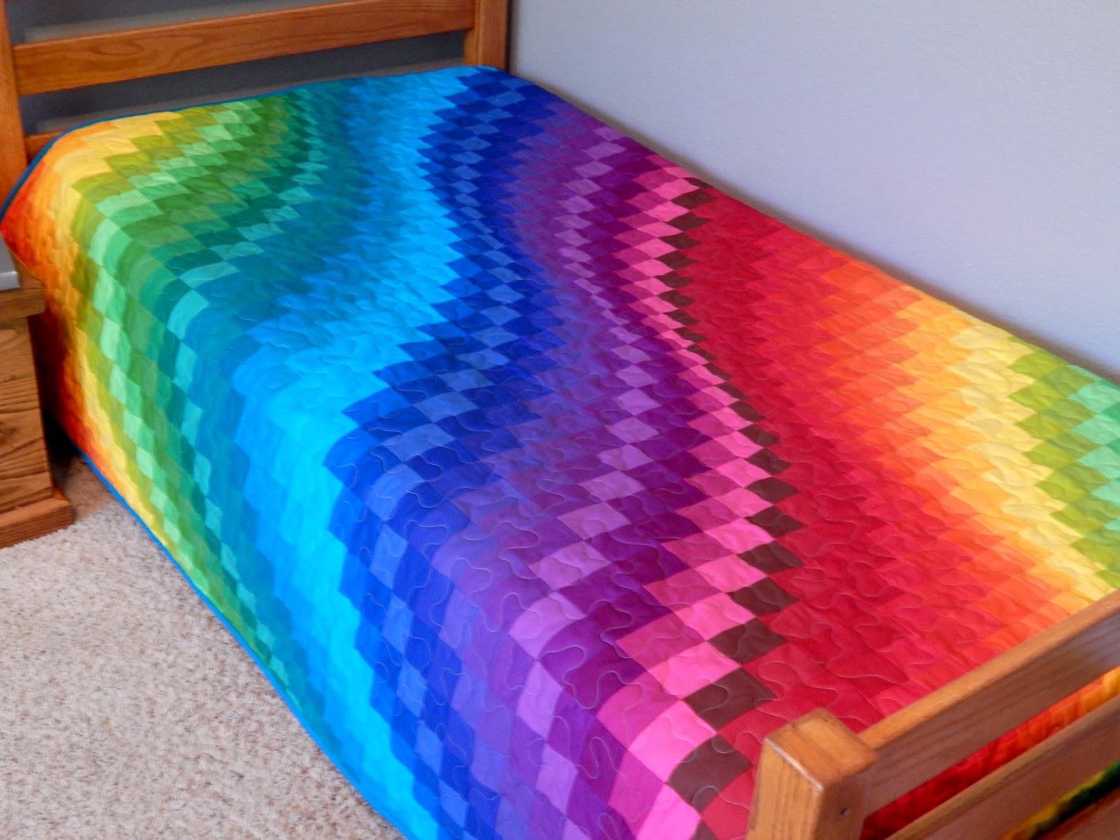 The Fleming S Nine Rainbow Bargello