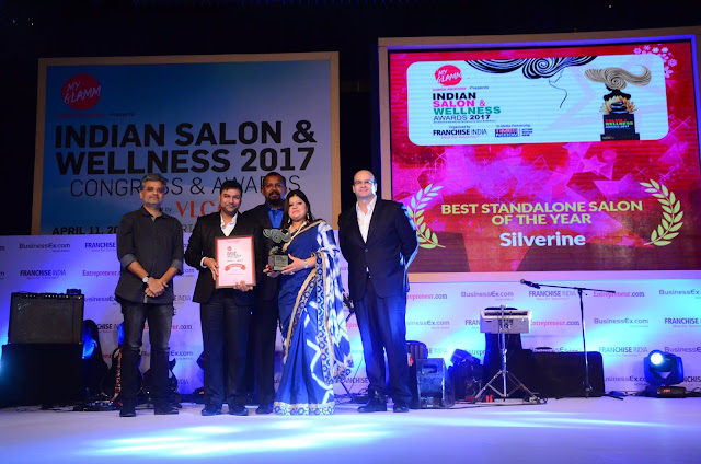 Indian salon and wellness award 2017 Congress & ceremony was held at JW Marriott