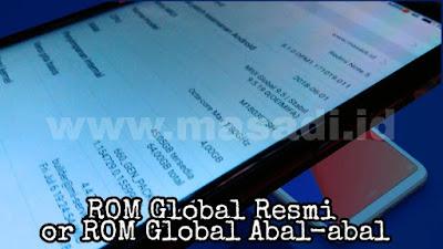 Cara Cek ROM abal-abal Xiaomi Redmi Note 5