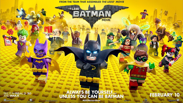Movie review: The LEGO Batman Movie, Yes/No Films