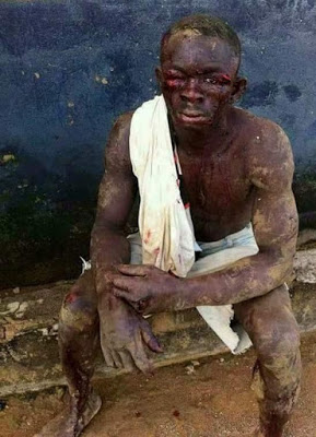 Omg! See What Soldiers Did to Residents of a Community Where a Military Commander was Killed (Photos)