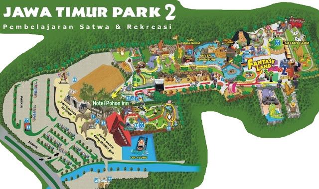 tempat wisata Jatim Park I & II Park di malang
