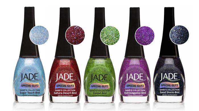 Segunda coleção Sand's Collection da Jade